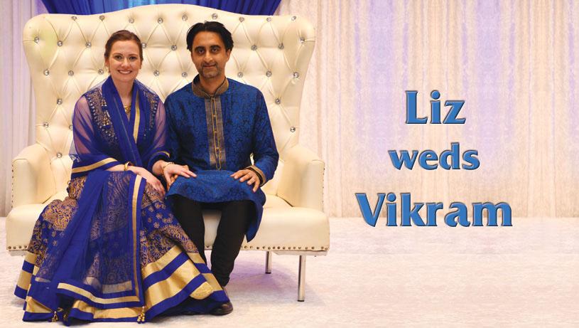 Liz weds Vikram