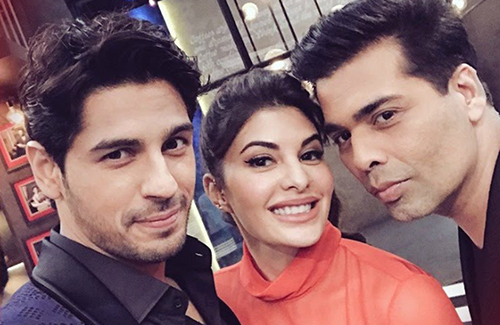 Sizzling chemistry between Jacqueline Fernandez and Sidharth Malhotra