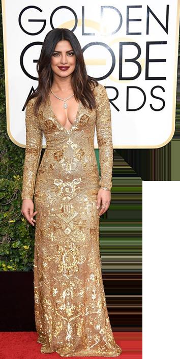 Priyanka Chopra rocks the red carpet at the Golden Globes