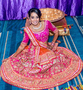 Priya Weds Ankit - Radha Krishna paradise on Garba night