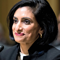 Seema Verma, Administrator of the Centers for Medicare and Medicaid Services nominee