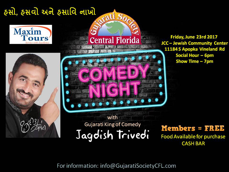 Comedy Night with Jagdish Trivedi