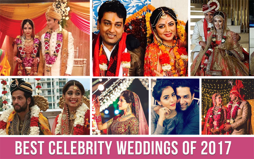 Best Celebrity Weddings of 2017