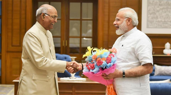 Ram Nath Kovind elected as the 14th President of India