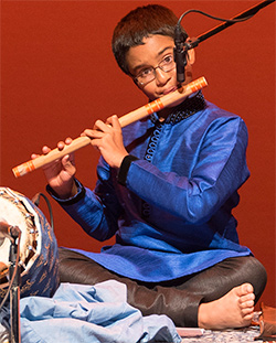 Agastya Sridharan - Flute Player