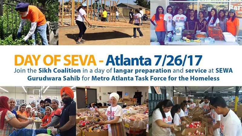Atlanta Day of Seva