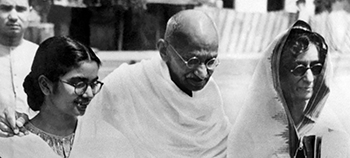 Gandhi's Gift shows the Master of Nonviolence at the end of his life