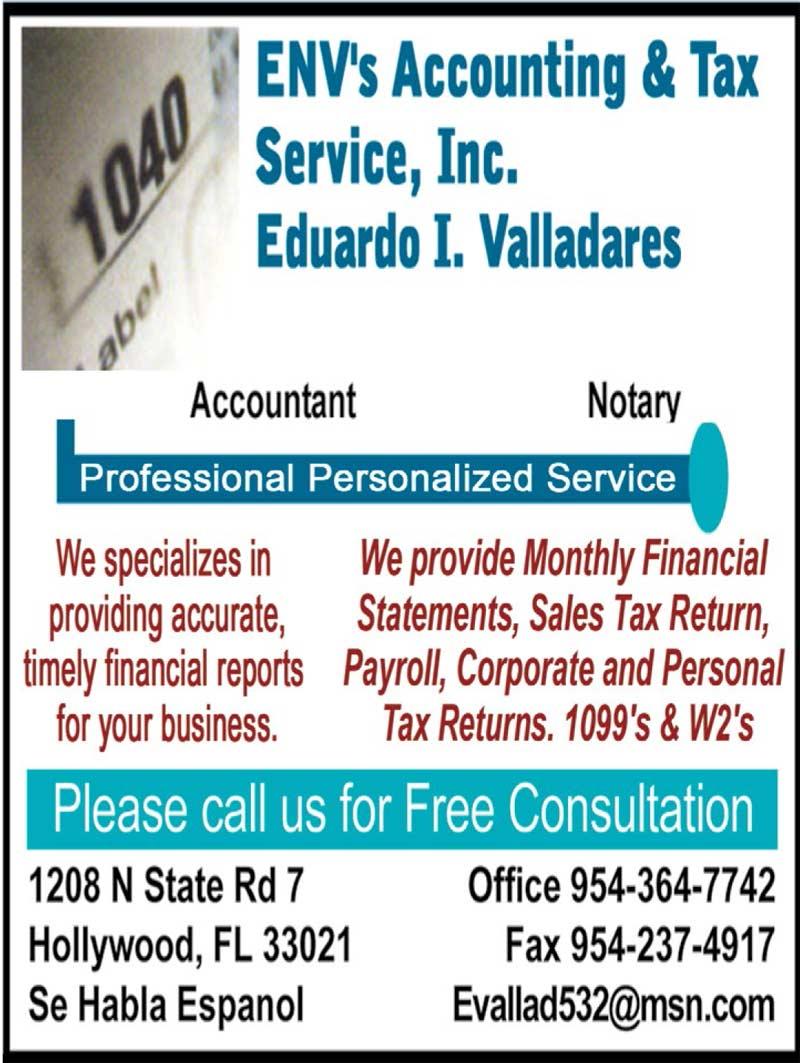 Env's Accounting & Tax Service