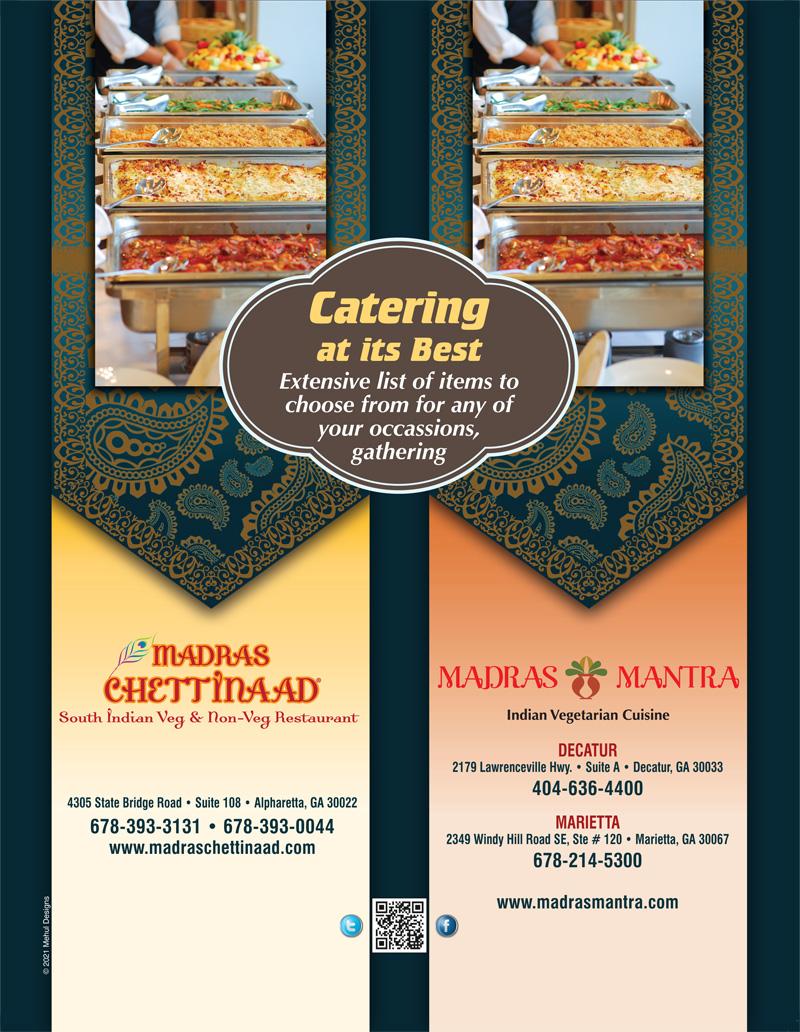 Madras Chattinaad- Vegetarian Restaurant