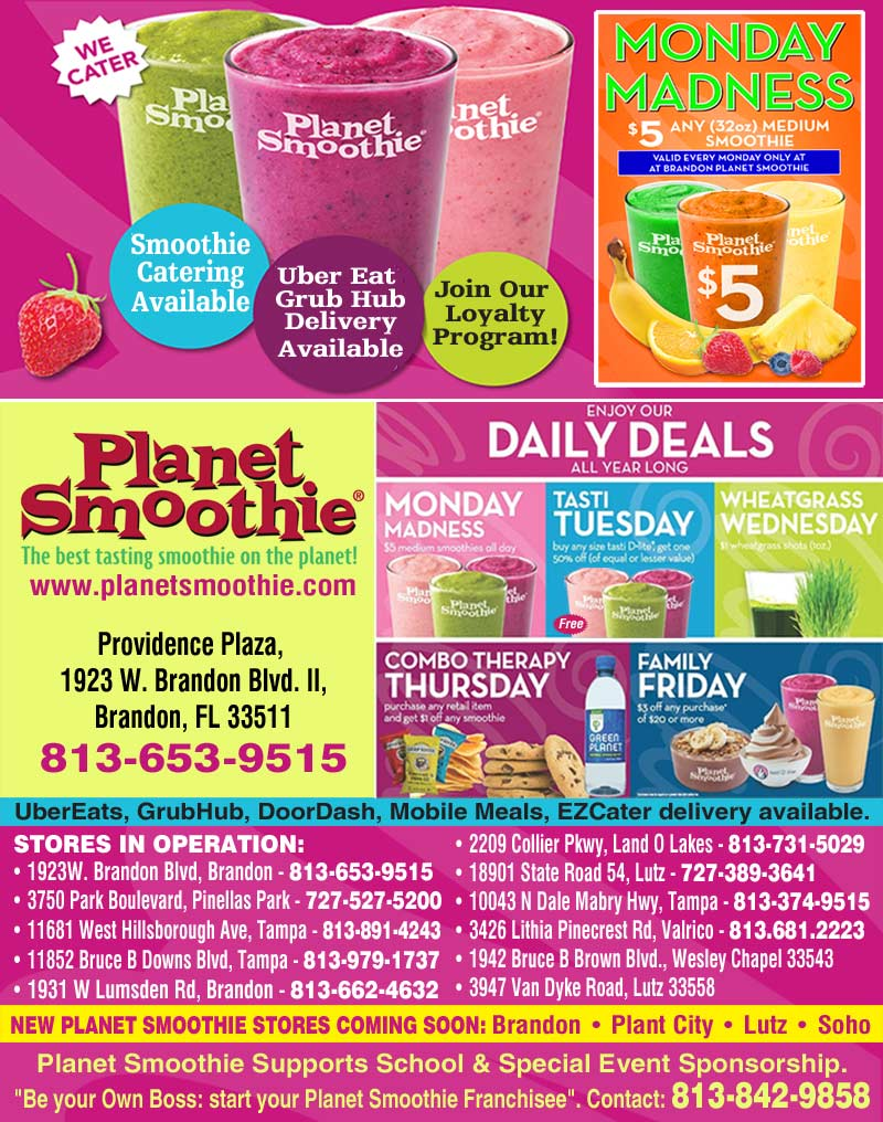 Planet Smoothie Tampa