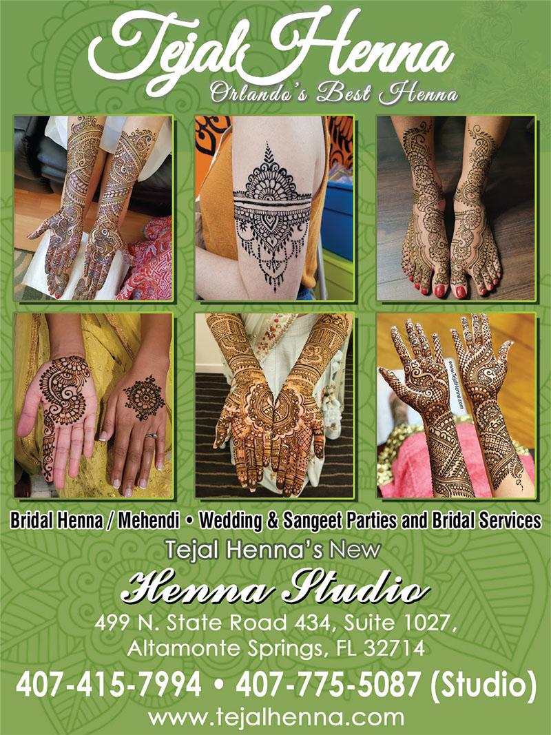 Tejal Henna Orlando's Best Henna