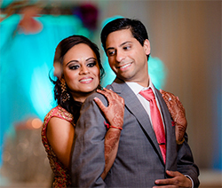 Reception of Neha and Tejas