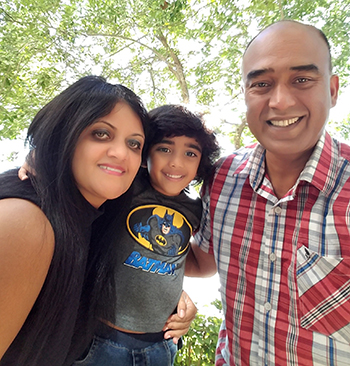 Kurian lives with his wife, Julie, and their son in South Florida.