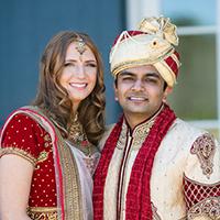 Dishant Dalal weds Sara Gromoll