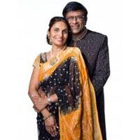 Dr Kiran Patel and Pallavi Patel