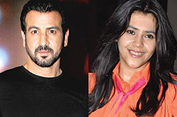 Ekta Kapoor happy to work with Ronit again