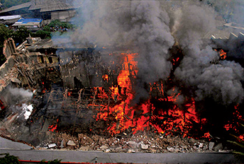 RK Films' memorabilia burnt in fire
