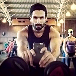 Shahid Kapoor's training pictures released