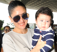 Kareena Kapoor Khan returns to celebrate first Diwali with son Taimur