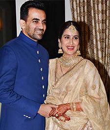 Sagarika Ghatge & Zaheer Khan