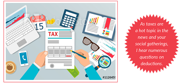 Misconception about Itemized Deductions/Schedule A on your Tax Return