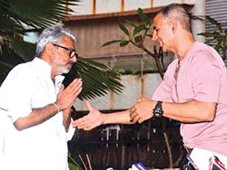 Sanjay Leela Bhansali thanks Akshay Kumar for postponing PadMan