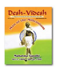 Gandhi ji -Man of the Millennium
