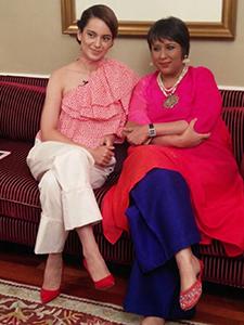 Kangana Ranaut & Burkha Dutt