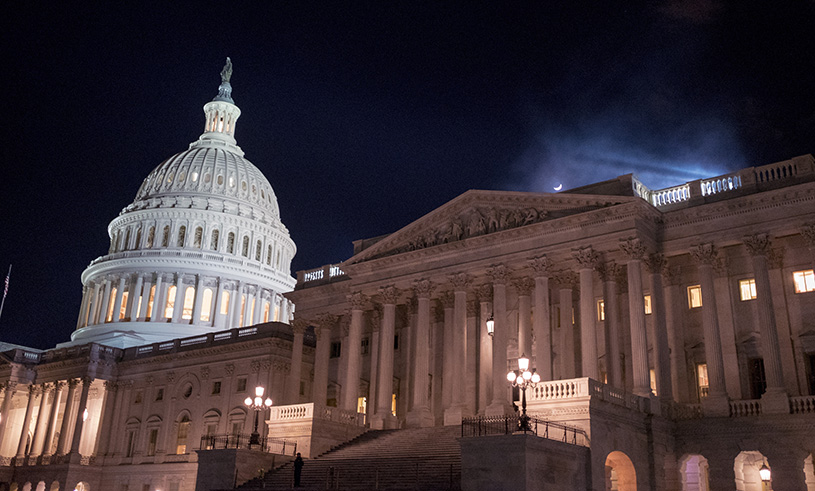 US govt shutdown ends as Senate passes temporary bill
