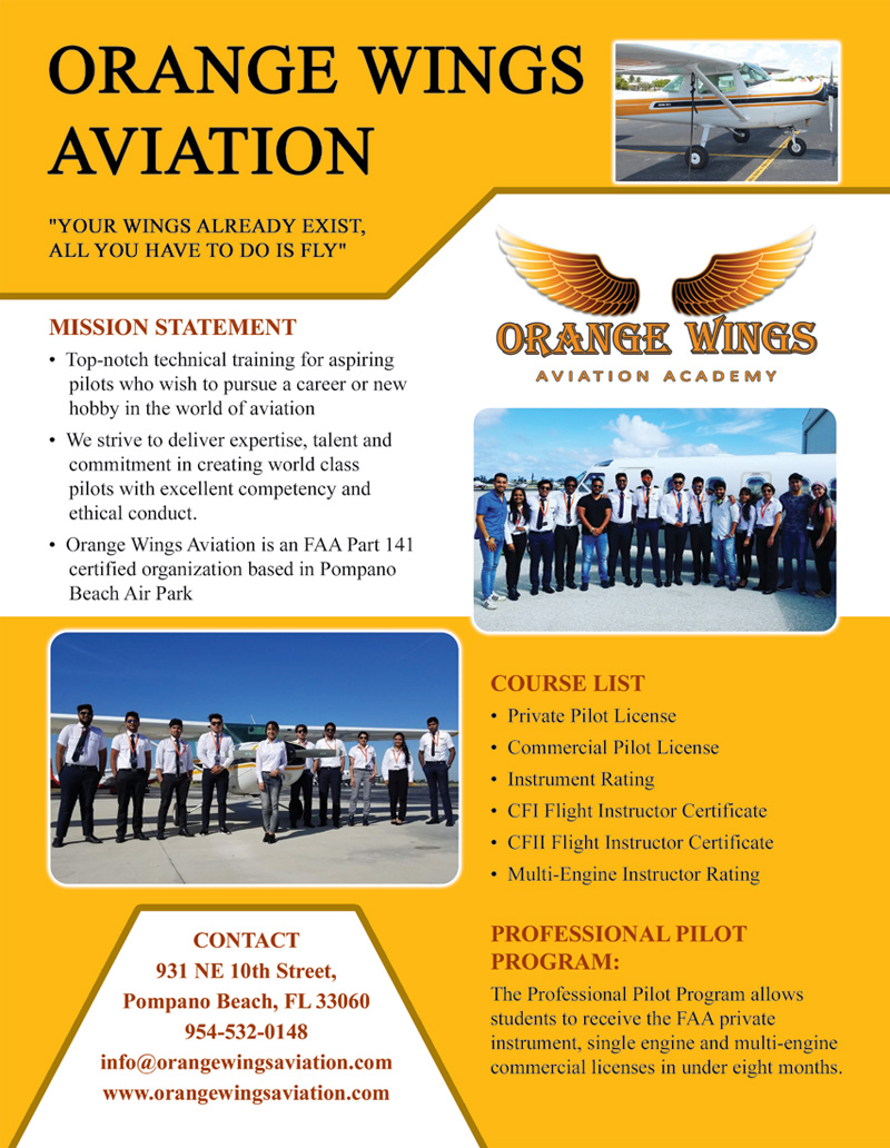 Orange Wings Aviation School