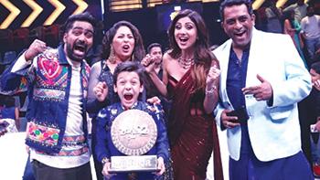 Bishal Sharma Wins Super Dancer Chapter 2