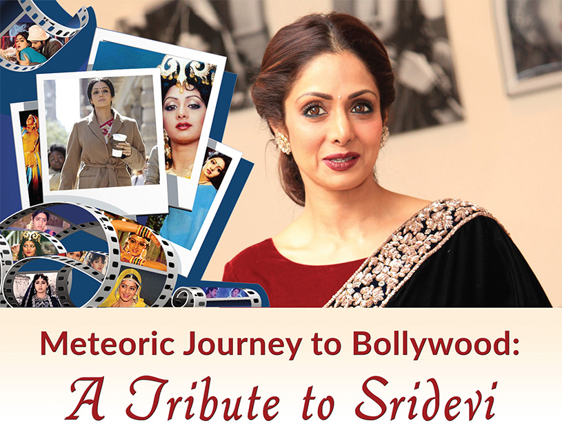 Meteoric Journey to Bollywood: A Tribute to Sridevi