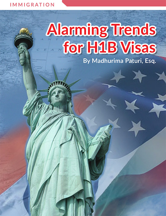 Alarming Trends for H1B Visas