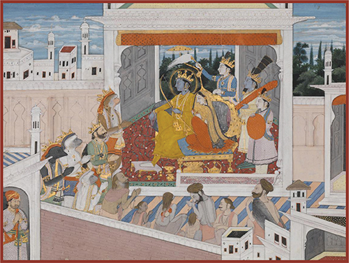 The Ramayana in Indian Painting: Exhibition at Emory University Carlos Museum