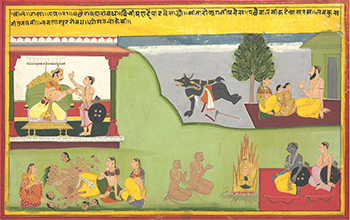 """Tell the Whole Story from Beginning to End"" - The Ramayana in Indian Painting exhibition launched on January 13, 2018"