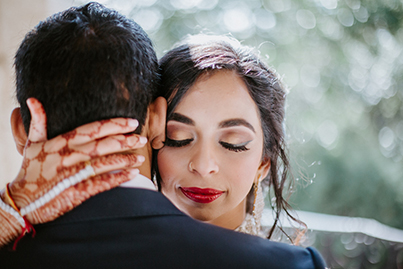 Dreamy Indian Bride and Groom Capture