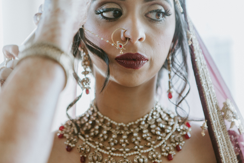 Perfect Indian Bridal Makeup by Bombshell Makeovers