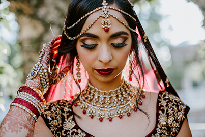 Mang Tika Indian Bride Jewelry