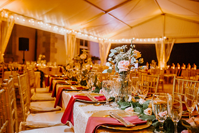 Marvelous Indian Wedding Reception Decoration