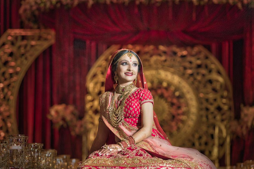 Indian Bride Photoshoot Poses