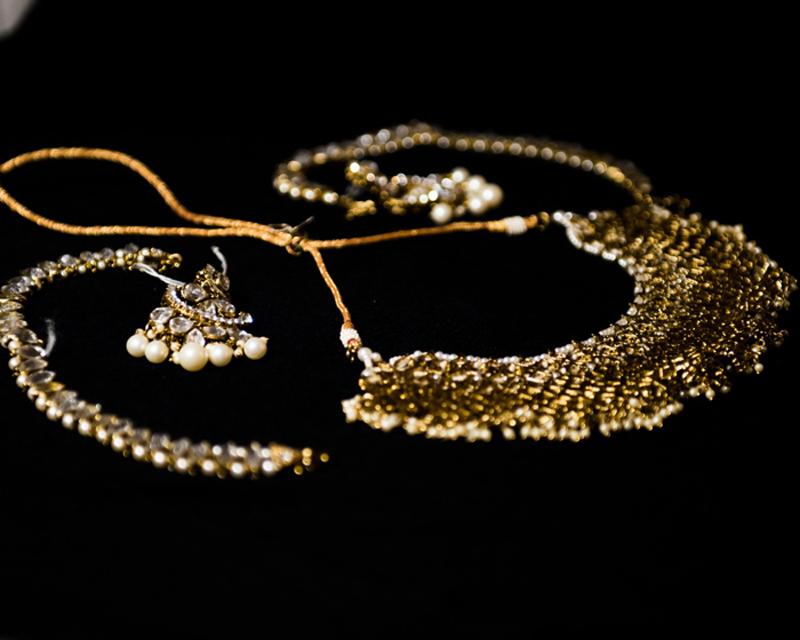 Glorious Indian Wedding Earring and Necklace
