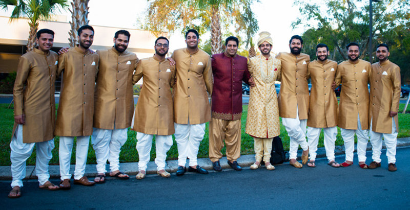 Indina Groom with Groomsmen Capture