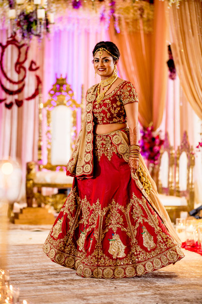 Indian Bride in Wedding Outfit