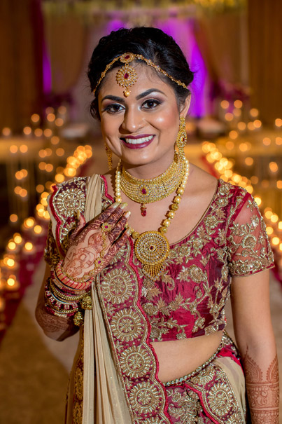 Charming Indian Bride Photography