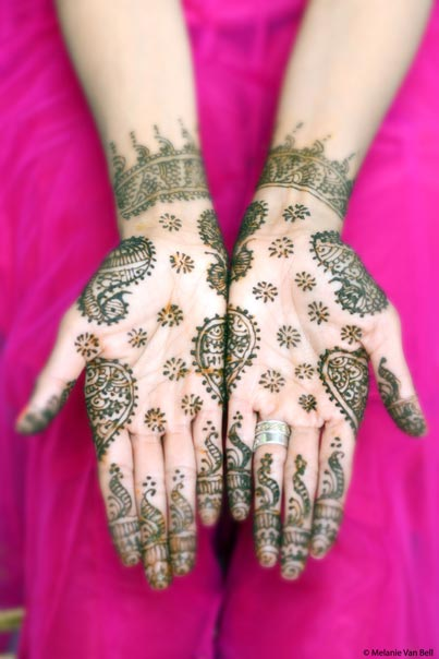 Indian Bridal Mehndi Art