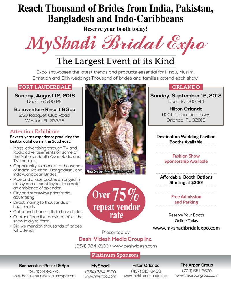 Myshadi Bridal Expo 2018