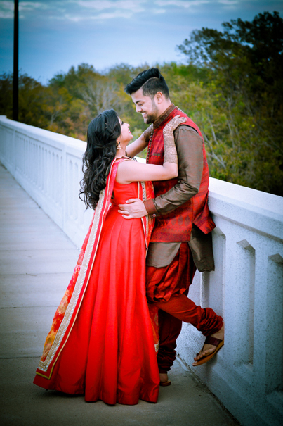 Glamorous Indian Groom and Bride Style