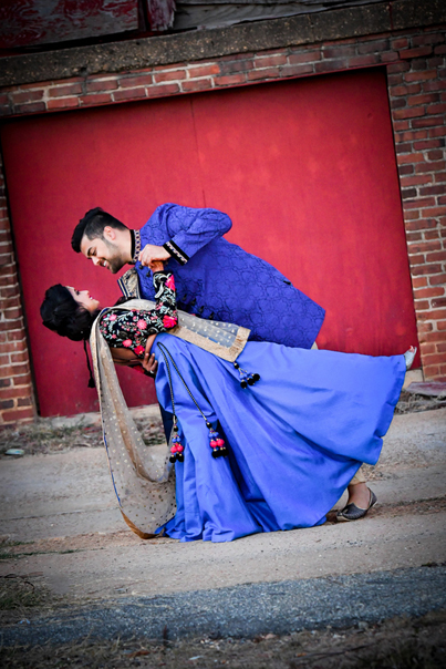 Enchanting Photography of Indian Bride and Groom