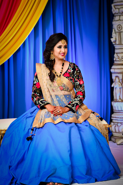 Charming Indian Bride's Sangeet Ceremony Capture
