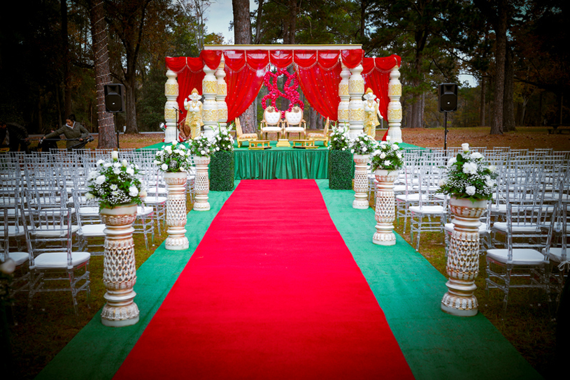 Indian Wedding Decoration by Mandap World